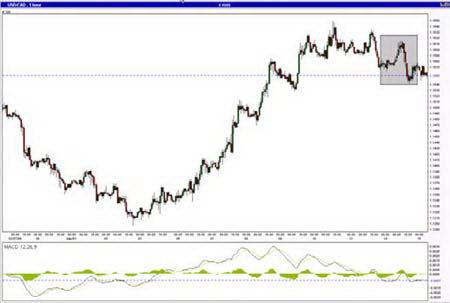 Следование тренду на рынке форекс